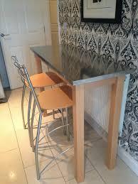 breakfast bar table set choose a modern breakfast bar table for a trendy kitchen drop leaf