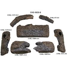 amazon com peterson real fyre 18 inch charred oak log set with