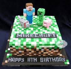 mine craft cakes minecraft cake craftsy