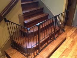 Best Gate For Top Of Stairs With Banister The 25 Best Child Gates For Stairs Ideas On Pinterest Safety