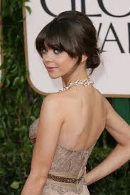 low updo with bangs wear it pinterest updo fringes and low updo