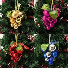christmas ball grape strings tree decoration ornaments pendant