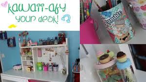diy kawaii afy your desk youtube