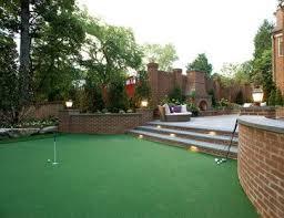 Backyard Putting Green Designs by 30 Best Backyard Ideas Images On Pinterest Backyard Ideas