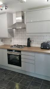 gloss kitchen tile ideas our new kitchen which we designed with wickes i the white