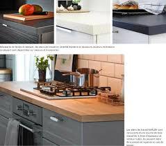 cuisine bois massif ikea plan de travail chene massif ikea maison design bahbe com