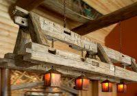 rustic beam light fixture buy a custom reclaimed barn beam light fixture bar restaurant home