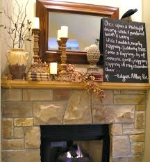 decorated candles decor mantel decorating ideas fireplace