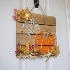 Homemade Fall Decor - diy fall decor twine pumpkin hello fall sign u2013 raela