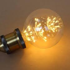 yellow led light bulbs vintage star collection g80 led edison filament light bulb e27 110v