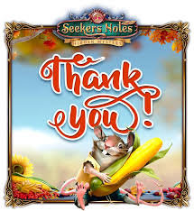 happy thanksgiving day we want to say seekers notes