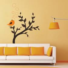 nature wall stickers tree wall stickers animals wall stickers birds on tree wall sticker