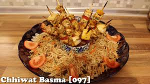 cuisine de basma chhiwat basma 097 طريقة تحضير شعرية لذيذة وقطبان الدجاج breads