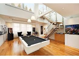 Pool Table In Living Room Furniture The Sweet Design Of The Pool Table In Living Room With
