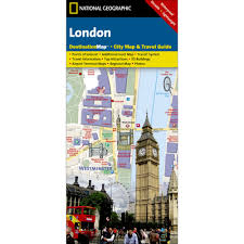 Tourist Map Of New Orleans by London City Destination Map National Geographic Store