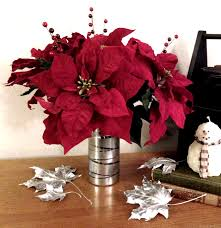 diy poinsettia flower arrangement love my diy home
