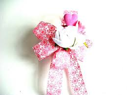 gift wrap bows pink and white s day bow gift wrap bow gift gifts from