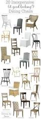 11 20 inexpensive dining chairs that dont look cheap terrific 20