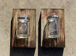 mason jar home decor ideas diy mason jar wall decor u2013 the hamby home u2013 rift decorators