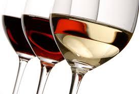 glass of wine of wine