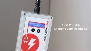 portable evse electric vehicle charging box youtube