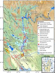 Map Of Colorado River by Importance Of Groundwater In Propagating Downward Integration Of