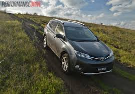 2013 toyota rav4 review cruiser and gxl performancedrive