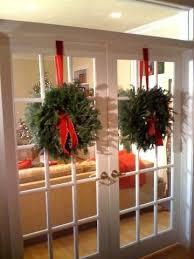 wreaths on doors doors winter and