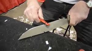 Worlds Best Kitchen Knives by Sharpest Hoodlum Knife In The World Youtube