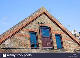 Corbelled Brick Corbelling Used On A Brick Gable Stock Photo Royalty Free Image