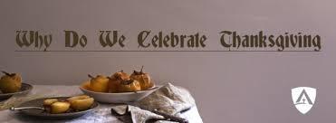 why do we celebrate thanksgiving enlightium academy