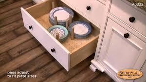drawer plate organizer showplace kitchen convenience accessories