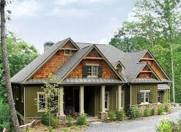 rustic lodge home plan 15655ge architectural designs house plans