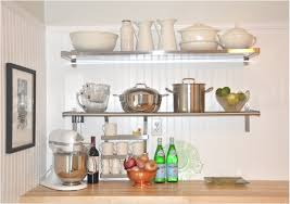 Kitchen Shelving Units by Wall Mounted Kitchen Shelf 9 Shining Design Full Image For Wall