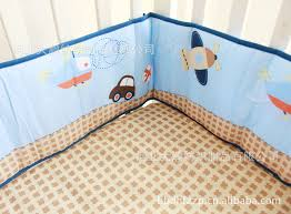 Helicopter Crib Bedding Promotion 3pcs Car Baby Crib Bedding Set Bed Kit Applique