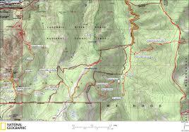 Columbia River Map Trail Map Of Columbia River Gorge U2013 Taconic Golf Club
