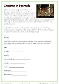 primaryleap co uk reading comprehension christmas in denmark