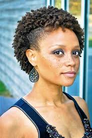 short hairstyles for natural hair for black women 1000 ideas about