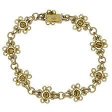gold bracelet with links images Antique gold bracelet late victorian early edwardian 15 carat jpeg