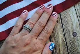 Nail Art Designs July 4 Vinyl Nail Decal Tips And Sizing Guidelines Silhouette Tutorial