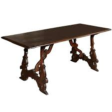 italian trestle table for sale at 1stdibs
