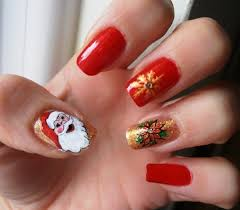 nails design for christmas 2015 beautify themselves with sweet nails
