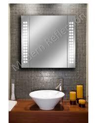 led bathroom mirror cabinets modern reflection