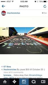 cheap yearbooks yes chalk is cheap and draws attention yearbook ideas