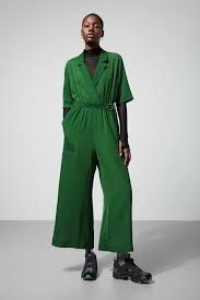 green jumpsuits jimi sleeve jumpsuit green dresses jumpsuits