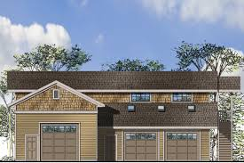 craftsman house plans garage w rec room 20 153 associated designs garage plan 20 153 front elevation