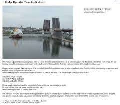 No Resume Required Jobs by New Operator Of Casco Bay Bridge Advertising U0027no Experience