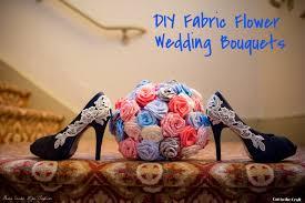 Wedding Flowers Keepsake Diy Fabric Flower Wedding Bouquet Tutorial Part Ii U2014 Cut To The Craft