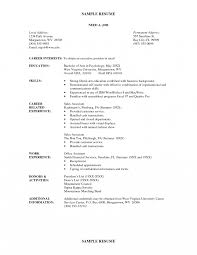 most recent resume format most current resume format newest new recent curriculum vitae best