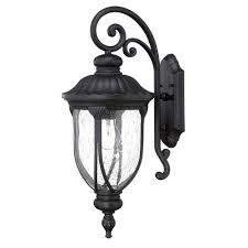 Pineapple Sconces Outdoor by Acclaim Lighting Lanai Collection 2 Light Matte Black Outdoor Wall